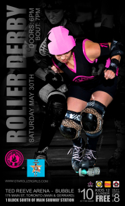 Roller Derby Poster May 30 2015