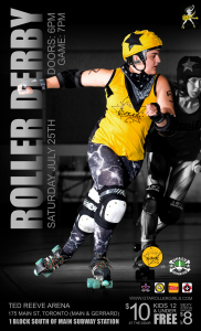 Roller Derby PosterJuly 25th 2015